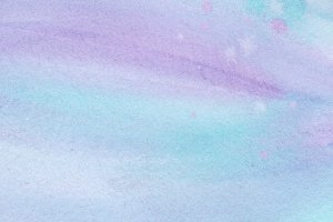 abstract violet and blue watercolor