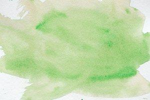 abstract green creative watercolor b