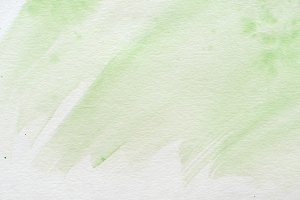 abstract green creative watercolor t