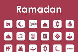36 ramadan simple icons