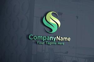S Logo | Leaf | Logo Template