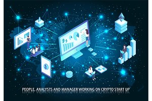 People Analyst Working on Start Up