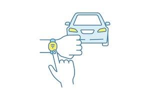 NFC car color icon