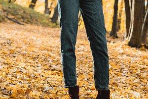 cropped image of fashionable woman i