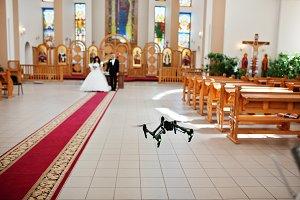 DJI Inspire Pro drone quadcopter rec