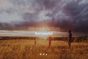 Adventure Coming Soon HTML Template