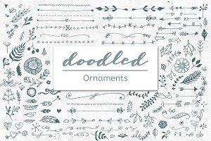 Doodled Ornaments