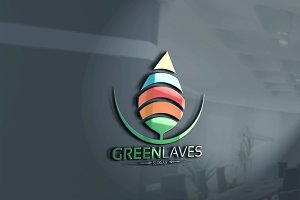 Green Laves Logo