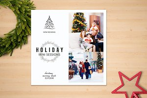 Holiday Mini Session Template-V04