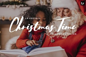 20 Christmas Time Lightroom Presets