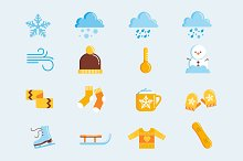 Wintry Chill Icons