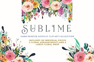 Flower Clip Art - Sublime