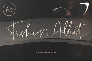 Fashion Addict Signature Font