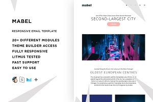 Mabel – Email template + Builder