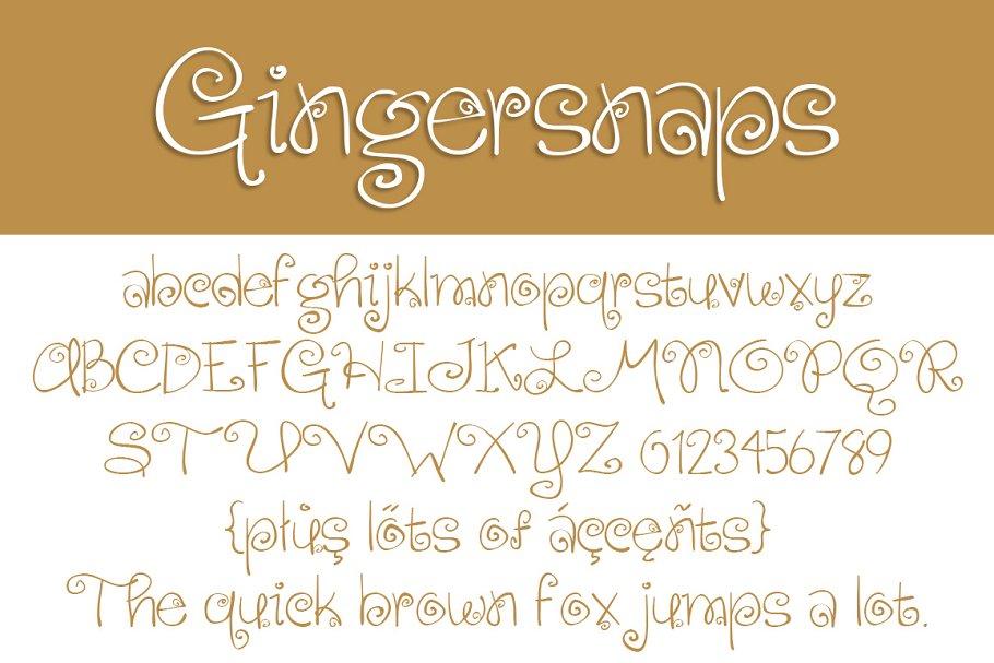 Best Gingersnaps Vector