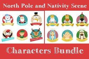 Christmas characters bundle II
