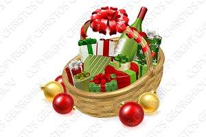 Christmas Hamper Gift Basket