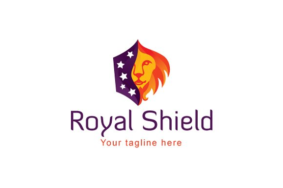 Royal Shield-Wild Animal Lion