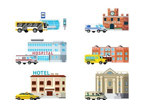 Orthogonal set of city services