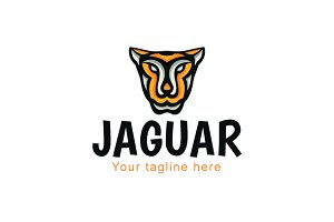 Jaguar - Wild Animal Stock Logo