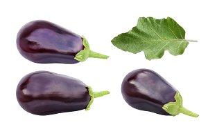 Aubergine or eggplant