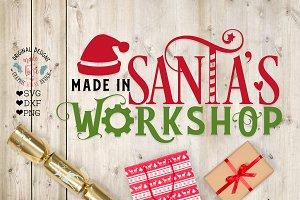 Santa's Workshop Cut File