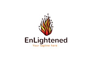 Enlightened-Fire Element Group Logo