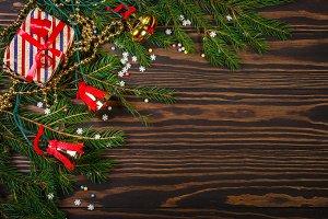 Christmas gifts and Christmas tree b