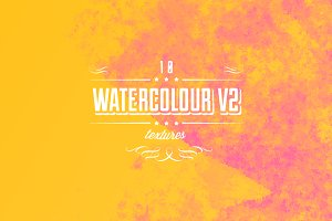 Watercolour textures V2