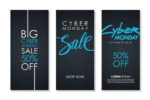 Cyber Monday Sale Flyers