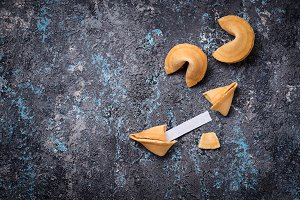 Traditional Chinese fortune cookies