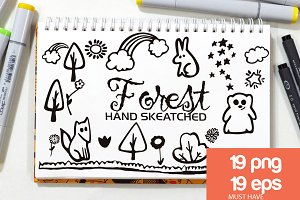 Forest ClipArt - Vector & PNG