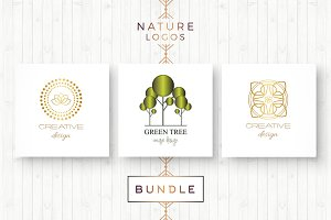 BUNDLE - Nature Logos