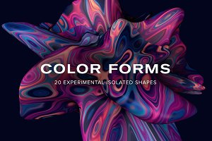 Color Forms: 20 Experimental Shapes