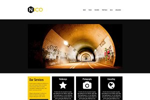 Nico - Multipurpose WP Theme