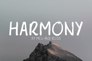 Harmony - Handwritten Font