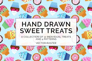 Sweet Treats Clip Art Bundle