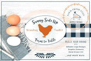 Sunny Side Up Branding Toolkit
