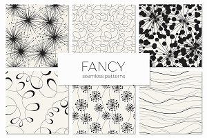 Fancy Seamless Patterns Set