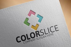 Color Slice Logo