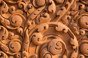Art carved abstract background