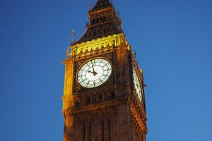 Big Ben in London
