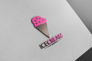Ice Cream Logo 3