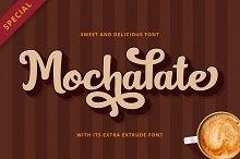 Mochalate   sweet & delicious font