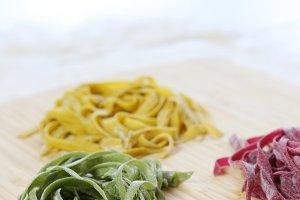 Fresh hand made pasta