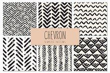 Chevron. Seamless Patterns Set v.3