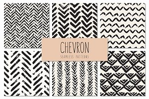 Chevron. Seamless Patterns Set v.3