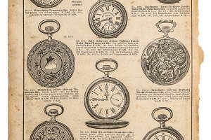 Antique pocket watch Vintage shop