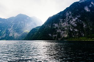 Scenic view of Konigssee in Bavaria