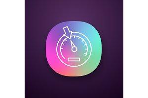 Speedometer app icon